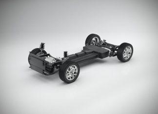 Technische Konzeptstudie für ein Batterie Elektrofahrzeug auf der kompakten Modular-Architektur (CMA) (Bildquelle: Volvo)