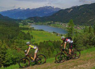 Genussvolles Abfahren am MTB-Trail Weissensee (Bildquelle: Gert Steinthaler)