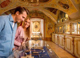 Die Schatzkammer in Maria Taferl mit seinen Prunkstücken ist immer einen Besuch wert. (Bildquelle: Waldviertel Tourismus)
