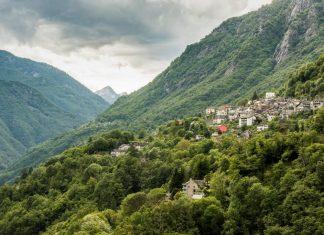 Onsernonetal (Mühle, Seilbahn, Alp Salei) in Vergeletto, Ticino. (Bildquelle: Switzerland Tourism / Andre Meier)