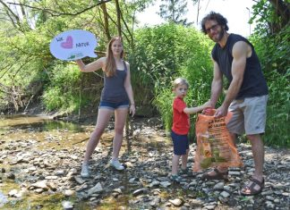 Das war der 1. NaturPutzer-Tag: Familien engagieren sich! (Bildquelle: GLOBAL 2000)