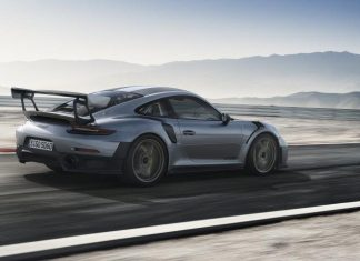 Der neue Porsche 911 GT2 RS mit 700 PS, Hinterradantrieb, Rennsportfahrwerk und Hinterachslenkung (Bildquelle: Porsche)