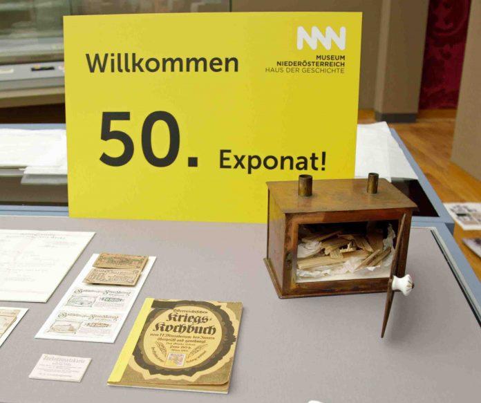 Das 50. Objekt in der Schwerpunktausstellung zur Ersten Republik (Bildquelle: Museum Niederöstereich)