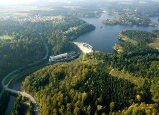 Panorama vom Kraftwerk Ottenstein (Bildquelle: EVN)
