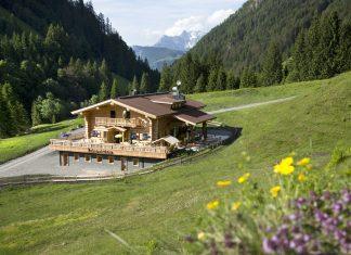 Pulvermacherscherm im Hörndlinger Graben bei Fieberbrunn, Kitzbüheler Alpen (Bildquelle: Pulvermacher Scherm / Ofner Franz)