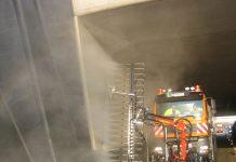 Tunnelwaschgerät (Bildquelle: ASFINAG)