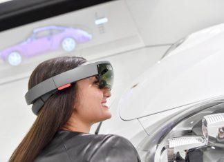 Neues Mixed-Reality-Format im Porsche Museum - Microsoft HoloLens als digitales Erlebnisangebot (Bildquelle: Porsche)