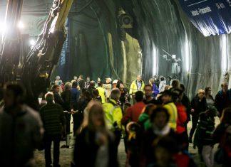 Der Brenner Basistunnel öffnete am 1. Oktober für einen Tag wieder die Tunnelportale. (Bildquelle: BBT SE/APA-Fotoservice/Hetfleisch)