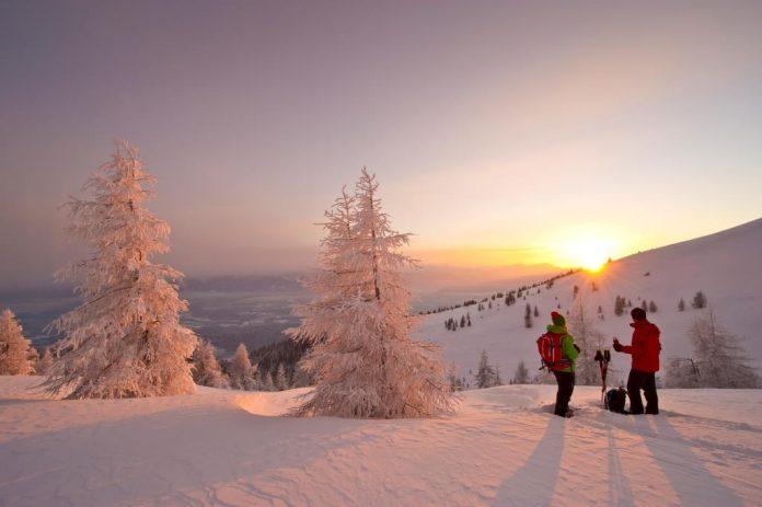 Einzigartige Naturerlebnisse in winterlicher Idylle von Dezember bis März. Guides begleiten in eine Welt des Staunens und der Ursprünglichkeit. (Bildquelle: Kärnten Werbung / Franz Gerdl)