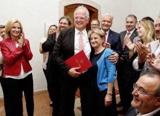 Bürgermeister Resch freut sich über das Ergebnis der Gemeinderatswahl 2017 (Bildquelle: Magistrat der Stadt Krems)