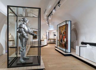 Der einzigartige Kostümharnisch ist als Teil der Sonderausstellung zu Bau- und Herrschaftsgeschichte im Schloss Pöggstall noch bis 12. November zu sehen. (Bildquelle: Klaus Pichler)