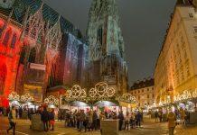 Weihnachtsmarkt am Stephansplatz zu Fuße des Stephansdoms (Bildquelle: MAGMAG Events & Promotion GmbH / Paparazzo Christian)