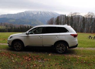 Der Mitsubishi Outlander im Guten Tag Österreich Autotest (Bildquelle: Michaela Resch)