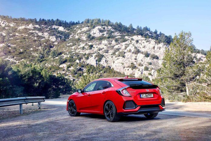 Der Honda Civic im Guten Tag Österreich Autotest (Bildquelle: Honda)