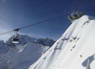 Skyway Monte Bianco (Bildquelle: obs / Funivie Monte Bianco S.p.A. / Roberto Francesconi)