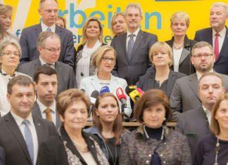 Landeshauptfrau Johanna Mikl-Leitner präsentierte am 21. Dezember die Kandidatinnen und Kandidaten der Landesliste (Bildquelle: Volkspartei NÖ)