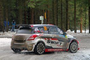 Christoph Zellhofer holte sich bei der Jännerrallye den Sieg in der 2-WD-Wertung.<small> (Bildquelle: Daniel Fessl)</small>