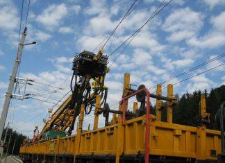 Austausch von 160 Oberleitungsmasten und der Fahrdrähte (Bildquelle: ÖBB/Alexandra Wallner)