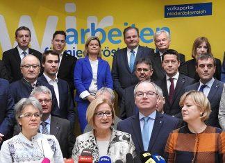 Landeshauptfrau Johanna Mikl-Leitner präsentiert das Programm für Niederösterreich. (Bildquelle: Thomas Resch)