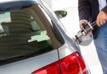 Das Betanken eines Erdgasfahrzeugs (Bildquelle: Ludwig Schedl)
