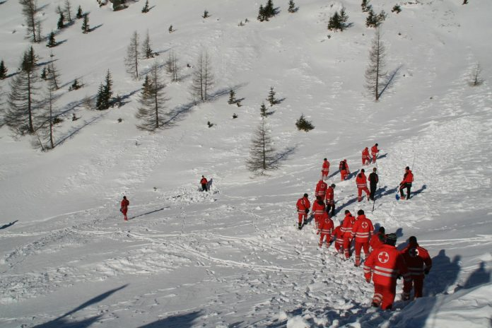 Erste Hilfe bei Ski-Unfällen (Bildquelle: ÖRK/Landesverband Kärnten)