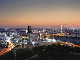 Panorama / Skyline of Donau City Vienna (Bildquelle: Siemens)