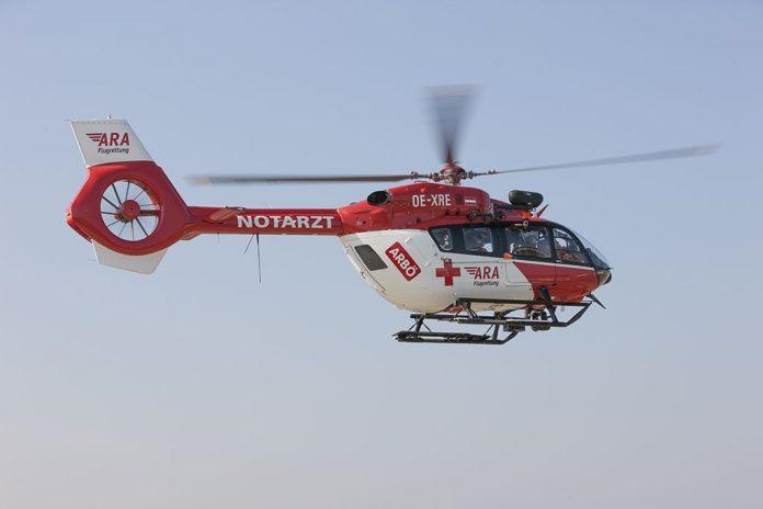 Die Kooperation von ARA Flugrettung und ARBÖ startet am 1. April mit dem Einsatz des ersten Hubscharuber H 145 (Bildquelle: ARA/ARBÖ Christoph von Haussen)
