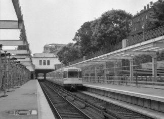 1978 U4 Roßauer Lände (Bildquelle: Wiener Linien)