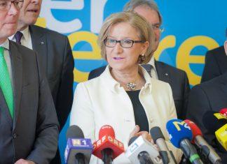 LH Mikl-Leitner bei der Präsentation der Arbeitsschwerpunkte für Niederösterreich (Bildquelle: VPNÖ)