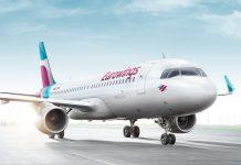 Eurowings-Flugzeug auf Landebahn (Bildquelle: Eurowings)