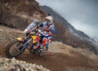 Matthias Walkner wird nach seinem legendären Dakar-Sieg 2018 auch beim Blakläder Iron Road Prolog auf seiner KTM 450 Rally um den Sieg mitfahren (Bildquelle: Red Bull Content Pool / Philip Platzer)