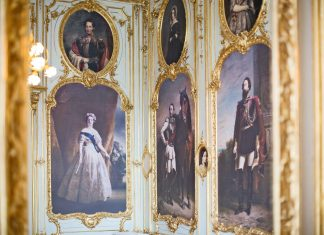 Familiensalon im Palais Coburg (Bildquelle: Palais Coburg/Tina Herzl)