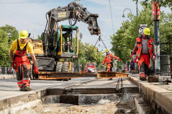 Neue Gleise bringt der Sommer (Bildquelle: Wiener Linien/Manfred Helmer)