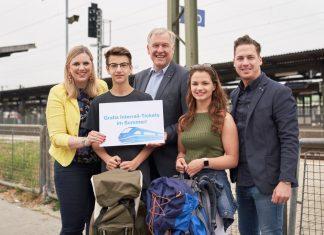 Alle 18-Jährigen in Europa können sich ab morgen (12.6.) für ein Gratis-Interrail-Ticket online bewerben und fahren diesen Sommer gratis durch Europa (Bildquelle: Monihart)