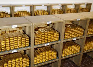 Goldtresor der OeNB (Bildquelle: Nieser / OeNB)