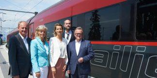 2-mal täglich Direktverbindung von Salzburg über Linz, St. Pölten und Wien nach Neusiedl/See an Wochenenden und Feiertagen während der Sommerferien (Bildquelle: Landesmedienservice/Mädl)