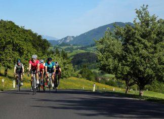Mit dem Rennrad durch die kontrastreiche Landschaft des Mostviertels (Bildquelle: Mostviertel Tourismus/weinfranz.at)