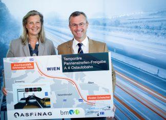 Temporäre Freigabe des Pannenstreifens bringt höhere Kapazität, weniger Stau und mehr Verkehrssicherheit (Bildquelle: ASFINAG)