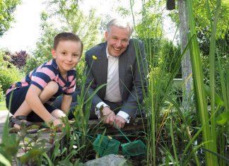 Lorenz und Landesrat Martin Eichtinger freuen sich schon auf das Abenteuerfest auf der Garten Tulln (Bildquelle: Gabriele Moser)