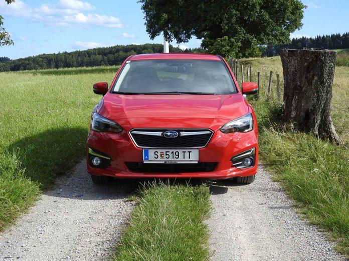 Der Subaru Impreza im Guten Tag Österreich Autotest (Bildquelle: Thomas Resch)