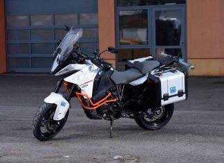 Das ein High-Tech-Bike MoProVe im Dienste der Zweirad-Sicherheit (Bildquelle: AIT / Johannes Zinner)