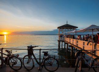 APA-DeFacto analysierte Beliebtheit heimischer Badeseen auf Instagram – der Bodensee ist der Social-Media-Star unter Österreichs Seen. (Bildquelle: Daniel Schoenen / Lookphotos / picturedesk.com)