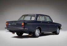 Die luxuriöse Limousine Volvo 164 aus dem Jahr 1968 (Bildquelle: Volvo)