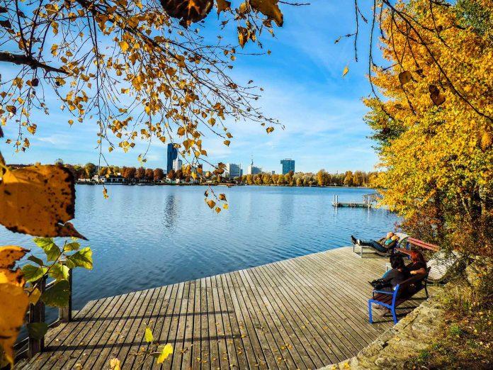 Mit der Wiener Wasserweg-App wissenswertes über Flora und Fauna und die Geschichte der Alten Donau erfahren (Bildquelle: Christian Fürthner/MA45)