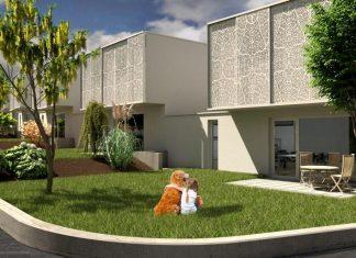 """Pilotprojekt """"Bauteilaktivierung für sozialen Wohnbau in Niederösterreich"""" (Bildquelle: AW Architekten)"""