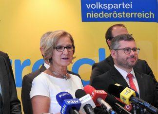 """Landeshauptfrau Johanna Mikl-Leitner: """"Erreichen im Miteinander mehr für unser Land und unsere Landsleute"""" (Bildquelle: Thomas Resch)"""