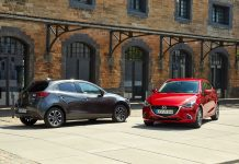 Der Mazda2 im Modelljahrgang 2018 bietet zusätzliche Assistenzsysteme (Bildquelle: Mazda)