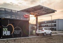 Der Fronius SOLH2UB ist die erste grüne, innerbetriebliche Wasserstoff-Betankungsanlage Österreichs (Bildquelle: Fronius International GmbH)