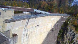 Staumauer des EVN Pumpspeicherkraftwerkes Ottenstein (Bildquelle: LPD Wien)