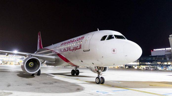 Das erste Flugzeug der Air Arabia Maroc am Flughafen Wien (Bildquelle: zVg.)